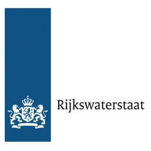 Rijkswaterstaat logo, opdrachtgever van Frans Foto te Zwolle